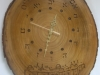 Hebrew wall Clock 5