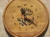 Hebrew wall Clock 18