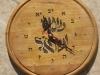 Hebrew wall Clock 18