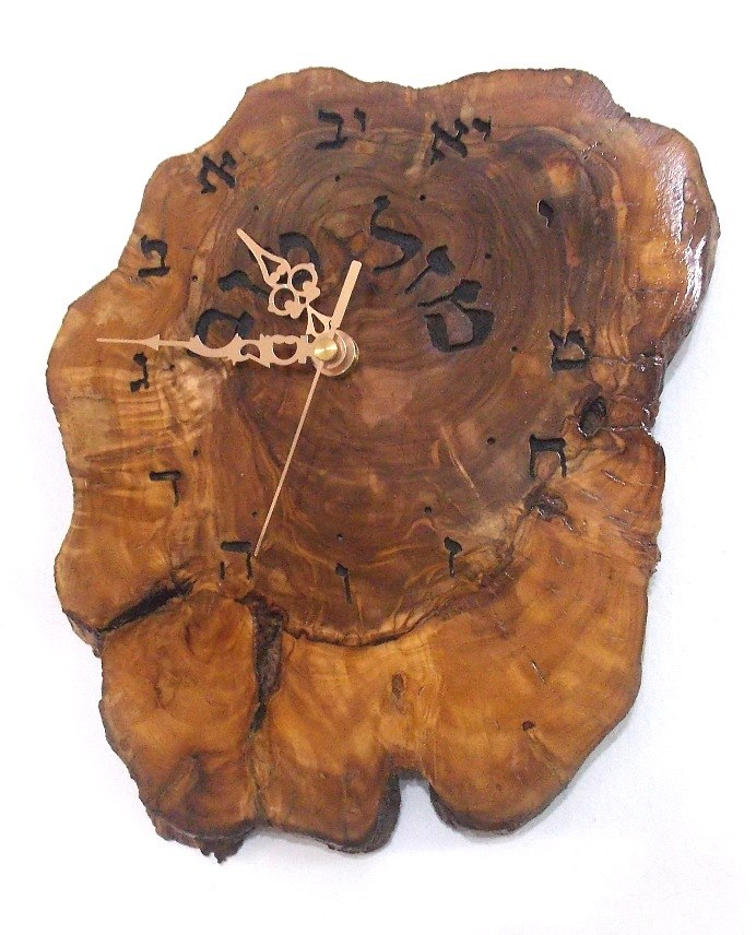 Hebrew Clock Mazal Tove